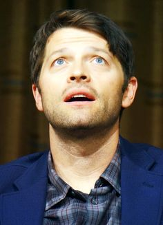 misha EYES and look at the highlights in his hair...