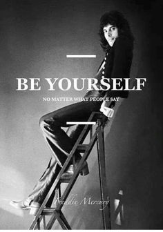 Good advice from Freddie