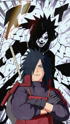 Madara Uchiha Wallpapers, Wallpaper Naruto Shippuden, Naruto Wallpaper, Madara Susanoo, Itachi Uchiha, Anime Naruto, Star Wars Commando, Animes Online, Cool Anime Guys