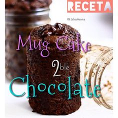 .@Claudia León | ->Mug cake doble chocolate! Necesitas: 1/3 taza avena (cruda, puede ser h... | Webstagram - the best Instagram viewer