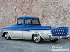 1955 chevrolet cameo pickup hotrod