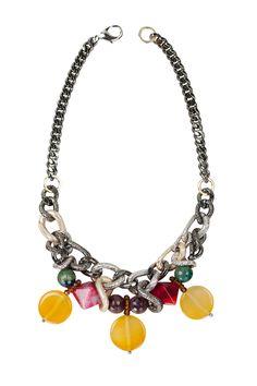 Колье Sunny с разноцветными агатами и кристаллами. Заказать украшение вы можете связавшись с нами +38 096 159 159 5 через Facebook samokishjewelry@gmail.com #samokish #jewelry #neckless