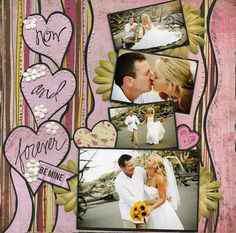 Now & Forever - Scrapbook.com  ⊱✿-✿⊰ Join 700 people and follow the Scrapbook Pages board for Scrapping inspiration ⊱✿-✿⊰
