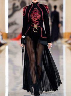 kiara misses ryujin everyday everynight 🌪️ on, ados coréenne femme haute couture tendance chic Look Fashion, High Fashion, Fashion Show, Fashion Design, Bad Fashion, Queen Fashion, Fashion 2020, Spring Fashion, Fashion Women