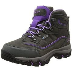 Keswick Hiking Boot, Grey/Purple, US7 ** See this great product.