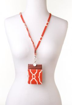 Carlyn Smith Creations Store - Sallie Ann I.D. Lanyard, $19.00 (http://www.carlynsmithcreations.com/products/sallie-ann-i-d-lanyard.html)