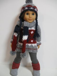 American Girl Doll Clothes  Winter Collection by 123MULBERRYSTREET  $38.00