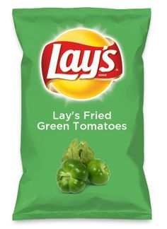 Wouldn't Lay's Fried Green Tomatoes be yummy as a chip? Lay's Do Us A Flavor is back, and the search is on for the yummiest flavor idea. Create a flavor, choose a chip and you could win $1 million! https://www.dousaflavor.com See Rules.