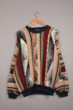 cotton traders, coogi sweaters, coogi look, coogi, vintage sweater, carlo colucci sweater, cuggi sweater, vintage crewneck, biggi sweater door getfittedvintage op Etsy