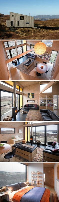 Container House - The Hen House: a 753 sq ft holiday home on the Isle of Skye in Scotland - Who Else Wants Simple Step-By-Step Plans To Design And Build A Container Home From Scratch? Tiny House Movement, Building A Container Home, Micro House, Tiny Spaces, Tiny House Living, Tiny House Design, Small House Plans, House Goals, Hen House