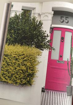 BODIE and FOU★ Le Blog   Effortless chic   French Interiors   Inspiring Design: Our pink door and those famous tiles.....