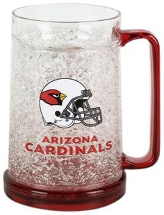 Arizona Cardinals Crystal Mug  https://allstarsportsfan.com/product/arizona-cardinals-crystal-mug/  Officially Licensed by the NFL Show your team pride with this high quality collectible Keeps beverages cold for hours