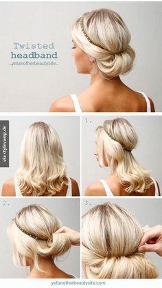 Die 44 Besten Bilder Von Brautfrisuren Haarband