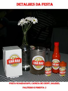 Chic Titi: Chá Bar - Boteco