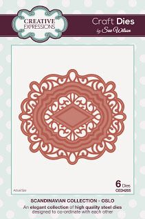 Creative Expressions Papercraft and Scrapbooking Products: Craft Dies by Sue Wilson: The Scandinavian Collect...