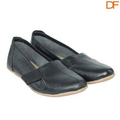 COCOON –CLASSY SEMI-FORMAL FLAT BLACK #SHOES http://buff.ly/1m3iMFO 25% off on all orders above Rs.500
