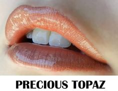PRECIOUS TOPAZ Lipsense.  Looking for the best liquid lipstick on the market? Look no further! LipSense is long lasting (up to 18 hours with 1 application), waterproof, smudge-proof and kiss-proof! It is the best liquid lip color you will find....guaranteed!