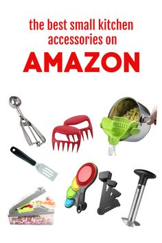 8 Must Have Accessories for Your Kitchen from AMAZON! Cut Pineapple, Food Chopper, Helping Other People, Cool Technology, Mess Up, Served Up, Unique Recipes, Cool Gadgets