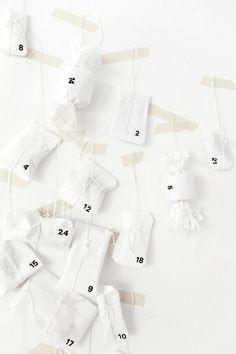 advent calendar white