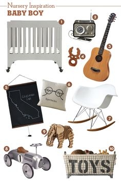 Finding Inspiration For Baby Boy's Nursery Room | Baby Lifestyles