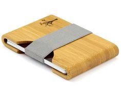 Ultra Slim Wood Wallet