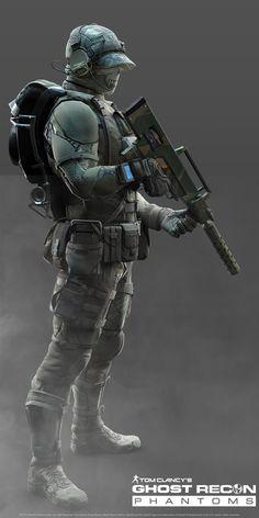 Ghost Recon Phantom-Support Class-Jungle Pack, Khan SevenFrames