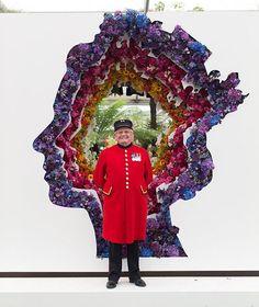 New Covent Garden Flower Market Display at 2016 Chelsea Flower Show
