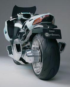 Suzuki G Strider rear view