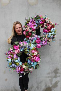 Mesh Ribbon Wreaths, Christmas Mesh Wreaths, Easter Wreaths, Diy Wreath, Grapevine Wreath, Mothers Day Decor, Summer Wreath, Paper Flowers, Floral Arrangements