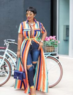 Monday in Ana Stripe shirt dress from Let's have a productive week folks 🙌🙏🤩 Ana Stripe shirt dress Curvy Outfits, Chic Outfits, Plus Size Outfits, Fashion Outfits, Womens Fashion, Fashion Clothes, Looks Plus Size, Look Plus, Curvy Girl Fashion