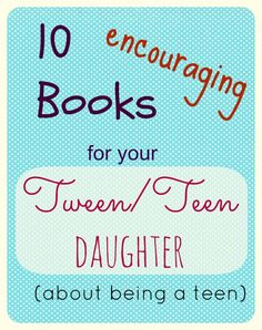 Great books for your tween daughter about being a tween: http://www.thehouseofhendrix.com/2013/05/04/tween-books/