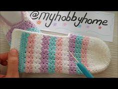 Pompom Booties – Häkeln – Myhobbyhome Booties World - babyschuhe sitricken Crochet Baby Sandals, Crochet Shoes, Crochet Slippers, Booties Crochet, Crochet Mask, Easy Crochet, Crochet Slipper Pattern, Crochet Patterns, Baby Scarf