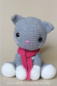 Abby Tabby Amigurumi Cat Pattern