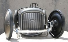 Miniature Mayhem: 1932 Ford Salt Flat Racer Pedal Car
