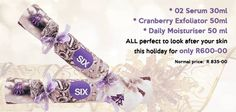 Six sensational Skincare has done it again. Wonderful holiday gift and Christmas gifts only or 3 intensive prodicts huge savings. Look After Yourself, Make It Yourself, Holiday Gifts, Christmas Gifts, Moisturiser, Your Skin, Serum, Skincare, How To Make