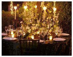 vampire garden wedding