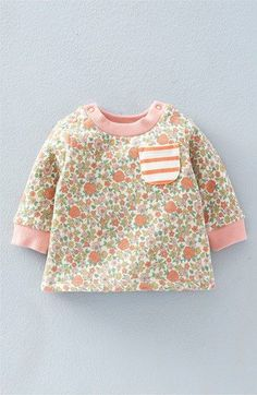 Mini Boden 'Pretty' Print Sweatshirt (Baby Girls & Toddler Girls) available at #Nordstrom