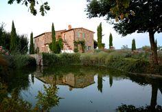 Podere Palazzo hilltop villa - Vilas para Alugar em Acquapendente