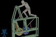 Man Pushing - STL,STEP / IGES,SOLIDWORKS,Parasolid - 3D CAD model - GrabCAD