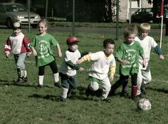 Athletics are one common form of childhood socialization throughout the United States.  Children are taught to compete, to want to defeat the other team, and to try to better themselves.  While often positive virtues may arise from the experience, if a child has a bad coach who is not constructive, bad virtues may result from playing.  Sometimes these manifest as hyper-competitiveness and poor anger management coping mechanisms.