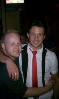 with Jason Dottley, 2011