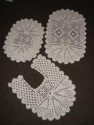 Resultado de imagem para tapetes de croche com graficos para banheiro