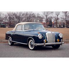 1958 220 S Cabriolet