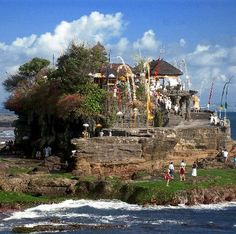 Tanah Lot Temple Bali- to visit next time we go