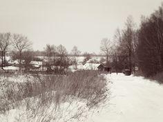 Approaching an empty village
