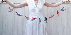 kayeblegvad illustrated bird garland