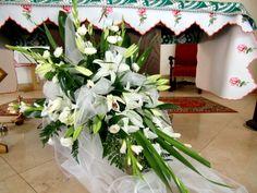 Ubranie kościoła na ślub, pogrzeb, święta