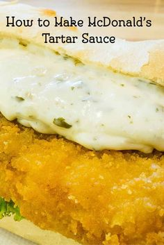 Tartar Sauce - Copycat Learn how to make your own Homemade McDonalds Tartar Sauce from scratch with this easy copycat recipe.Learn how to make your own Homemade McDonalds Tartar Sauce from scratch with this easy copycat recipe. Copykat Recipes, Sauce Recipes, Fish Recipes, Seafood Recipes, Cooking Recipes, Mcdonald's Tartar Sauce Recipe, Kfc Gravy Recipe, Fondue Recipes, Cheap Recipes