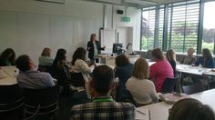I also gave a talk on self-editing - such a popular subject! Room just as full as when I gave this talk last yr.