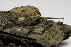 Miniart  –  35123 VALENTINE Mk. VI CANADIAN – BUILT EARLY PROD. + Andrew Birkbeck